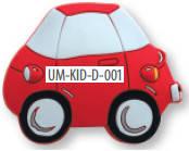 """Ручка мебельная детская """"Машинка""""  UM-KID-D-001"""