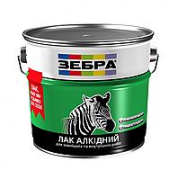 """Лак"""" ЗИП"""" алкидный для наружных и внутренних работ ПФ-110 ЗЕБРА."""