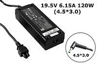 Зарядное устройство сетевой адаптер для ноутбука HP ENVY 19.5V 6.15A 120W 4.5*3.0 15-J003xx 15-J051nr 15-J078c