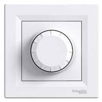 Светорегулятор проходной (диммер) белый Schneider Asfora (eph6400121)