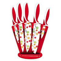 Набор ножей с антипригарным покрытием 6 предметов