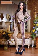 Нарядный женский спортивный костюм
