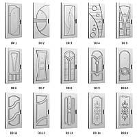 Каталог МДФ накладок на металлические двери