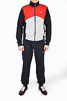 Спортивный костюм Nike. Красно - серый.