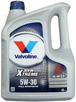 Синтетическое моторное масло Valvoline Syn power Sae 5w30 XL - III C3