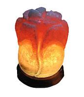 Солевой светильник Роза