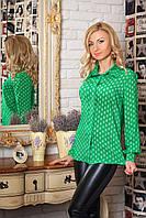 Женская рубашка с длинным рукавом 343