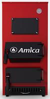 Amica Solid 30 кВт. котел твердотопливный стальной