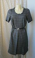 Платье женское демисезонное офисное элегантное хлопок Cotelac р.50