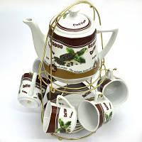 Набор кофейный Helios 13 предметов в ассортименте (3408)