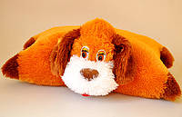 "Мягкая игрушка-подушка""трансформер"". Собака ""Малятко "" 43 х 55"
