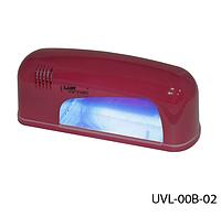 УФ Лампа для ногтей с электронной схемой зажигания Lady Victory1лампа Lamp UV-9W, LDV UVL-00B-02/6