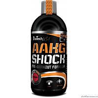 BioTech AAKG Shock Extreme 0,5 литра Предтренировочный