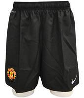 Шорты тренировочные, футбольные, мужские Nike MUFC Home Away Short WB 382471 010 найк