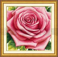 Набор для вышивания крестом «Роза» DOME 110811