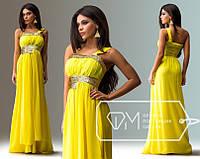 """Вечернее платье """"Афродита"""" /желтый/"""