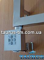 Квадратный электроТЭН с регулятором + таймер. Маскировка провода. Хром. Для сушилок в ванную от TAURUS
