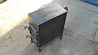 Печка буржуйка 3 - 4 мм для отопления любых помещений и приготовления еды