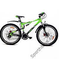 """Горный двухподвесный велосипед Azimut Ultimate 24"""" GD"""