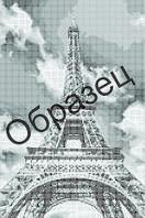 Схема для вышивки бисером «Эйфелева башня»
