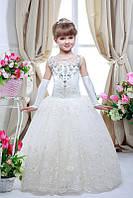 Арт.Нарядное платье для девочки 7706