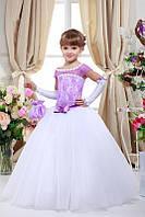 Арт.Нарядное платье для девочки 7709