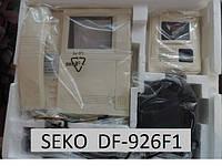 Видеодомофон видеозвонок SEKO - DF-926F1(out2). Черно белый. Высокое качество изображения и интерфейса.