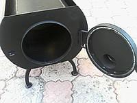 Печь дровяная средняя ПД-80 8кВт.