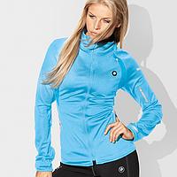 Женская куртка BMW Ladies' Soft Shell Jacket Light Blue