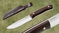 Нож нескладной с деревянной рукоятью