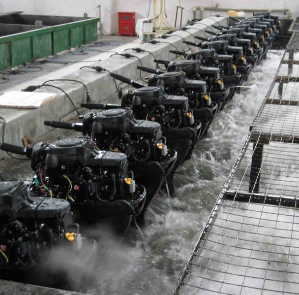 купить бу подвесной лодочный двигатель