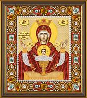 Набор для вышивки бисером Богородица «Неупиваемая чаша» Д 6004