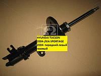 Амортизатор подвески передней, левый газовый HYUNDAI TUCSON 04-/KIA SPORTAGE 04-  производство Mando