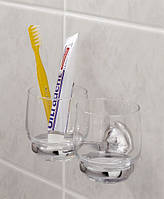 Стакан двойной  для зубных щеток Toscana