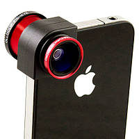Объектив Olloclip Линза fisheye, Wide Angle, Macro для телефонов iPhone 5/5S