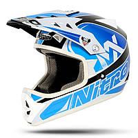 Детский кроссовый шлем Джуниор Nitro RAIDER JNR BLKGUNWHT