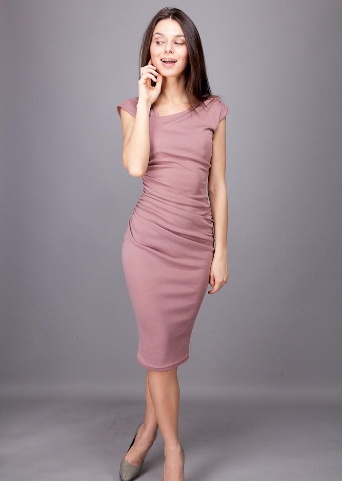 Платье футляр драпировка как сделать