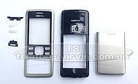 Корпус Nokia 6300, серебристый, копия ААА