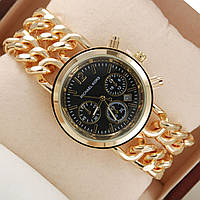 Женские часы Michael Kors черный циферблат