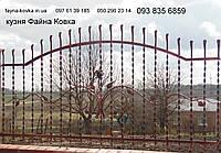 Кованый забор недорого (565), фото 1