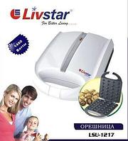 Выпекайте орешки для своих деток с орешницей livstar 1217, электроприбор, форма на 24 половинки, 220v