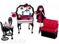 Кукла Монстер Хай Дракулаура и кафе закусочная  (Monster High Die-Ner and Draculaura Playset)