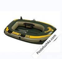 Надувная лодка Seahawk 100 Intex 68345 (193x108x38см).