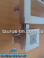 Квадратный ТЭН с маскировкой провода + управлением на кнопках 2 режима, хром (Польша). Мощность до 1000Вт.