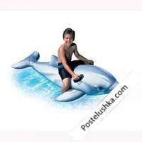 Детский надувной плотик Intex 58539 Дельфин (201x76 см.)