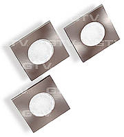 Комплект квадратных светодиодных светильников LD-KWP27ZB-53