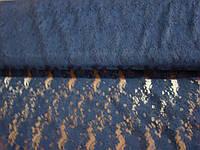 Ткань гипюр-стрейч (темно-синий)