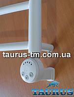 Белый ТЭН с регулятором + маскировка провода. Польша. Мощность: 300-600Вт.