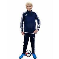 Детский спортивный тренировочный костюм Adidas Tiro S22421 (Темносиний)