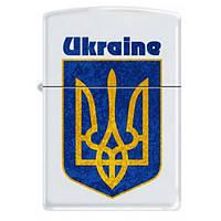 Зажигалка UKRAINE COAT OF ARMS 2 Zippo (214 UC)